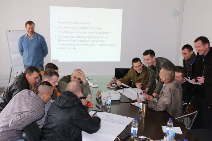 Виїзний навчальний модуль для ветеранів АТО
