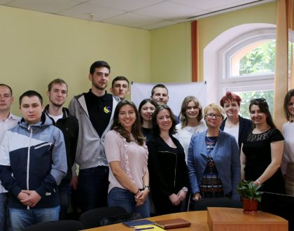 Візит до TBS представників Міністерства закордонних справ Естонії
