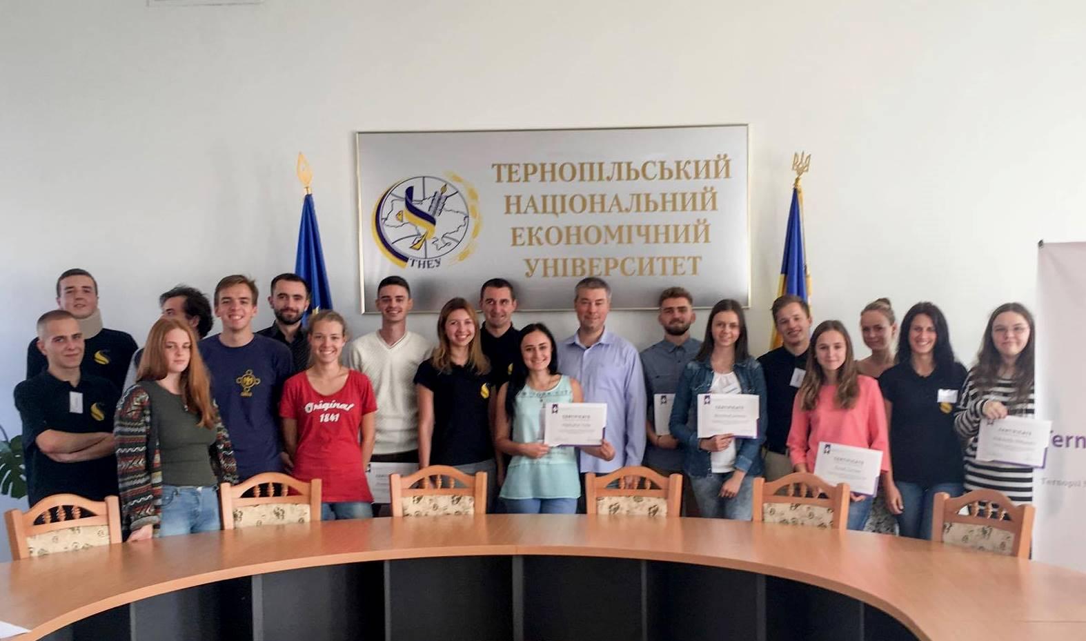 Від студента до ментора: бізнес-події для молоді у Тернопільській бізнес-школі