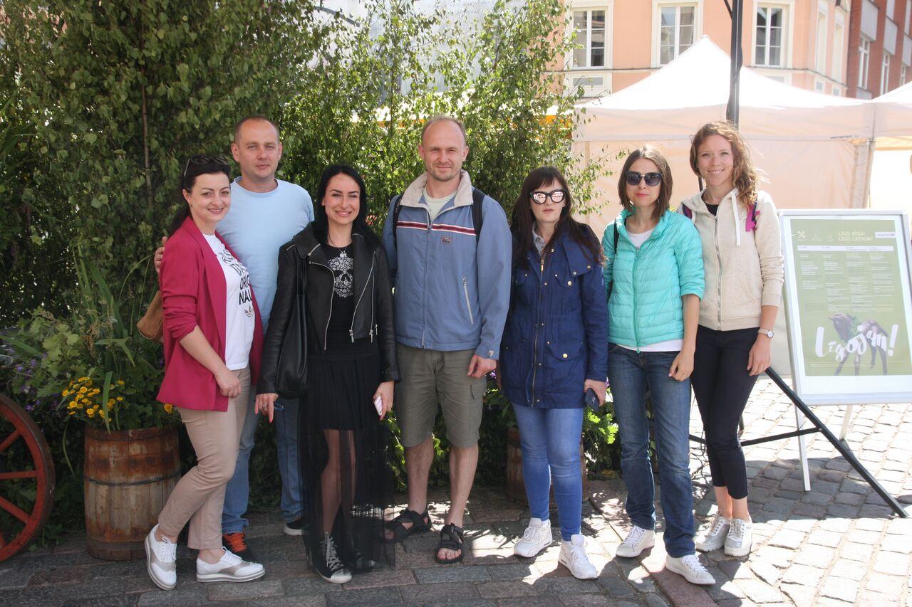 Візит викладачів тернопільських університетів до Таллінна