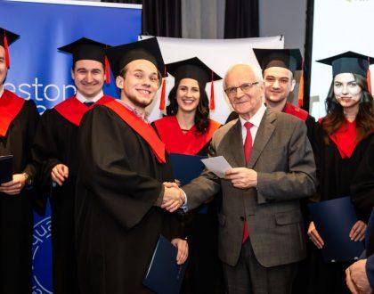 """Урочисте вручення дипломів випускникам магістерської програми """"Бізнес-інновації"""""""